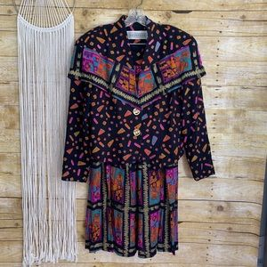 Vintage Componix Abstract 2 Piece Set